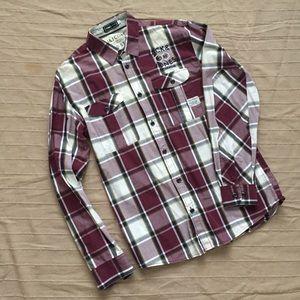 EUC Jack and Jones Plaid Men's Shirt